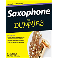 Saxophone For Dummies book cover
