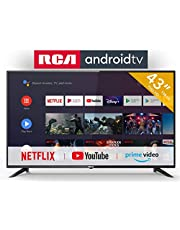 RCA RS43F2 Smart TV (43 inch Full-HD Android TV with Google Assistant, Google Play Store, Prime Video, Netflix) HDMI, USB, WiFi, BlueTooth, Triple Tuner (DVB-C / -T2 / -S2)