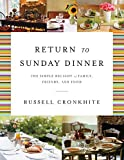 Return to Sunday Dinner Revised and Updated, Russell Cronkhite, 1401604803