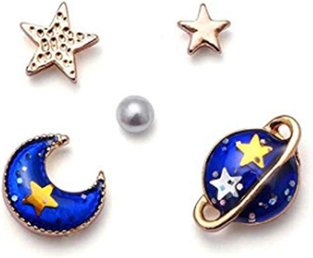 JUPITER EARRINGS Planet Jupiter Jewelry Astronomy Jewelry Orange Blue Tan 16mm Dangle Earrings Space Earrings Science Lover Gift Geek Gift