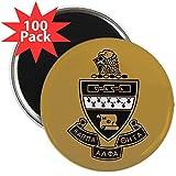 CafePress - Kappa Alpha Theta Crest - 2.25'' Magnet (100 pack)