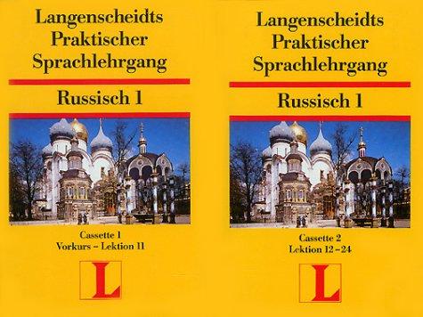 Langenscheidts Praktischer Sprachlehrgang, 2 Cassetten zum Lehrbuch Teil 1 (Russisch) Hörkassette Ljubow Kossobokowa Mchn. 3468804407 Russisch; Cassetten-Lehrgang