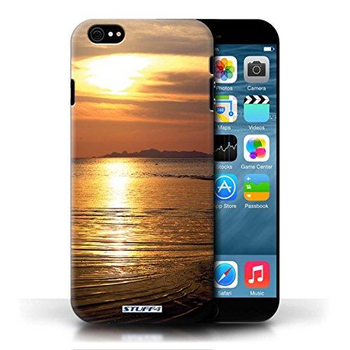 Etui pour Apple iPhone 6/6S / mer conception / Collection de Coucher du Soleil