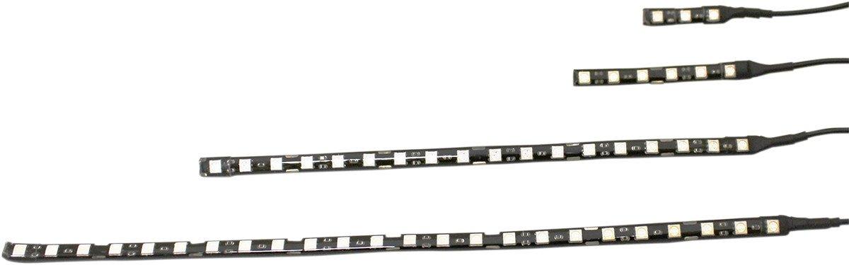 6-LED, 3 Long Ultraviolet Magicflex Low-Profile Custom Dynamics MQ6UV LED Accent Light 3 Long Ultraviolet Magicflex Low-Profile