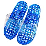 Sevia Accupressure Health Care India Foot Massager Jade Stone Acupoint Massage Slippers for Men and Women- Multicolor