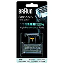 Braun Accessory, Series 5 Combi 51S Silver with Brush and Oil