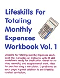 Lifeskills for Totaling Monthly Expenses, Skarlinski, Robert W., 1585320919