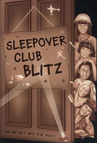 book cover of Sleepover Club Blitz
