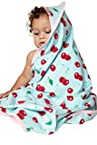 BedHead Pajamas Cherry Hearts ''Boo Boo'' Swaddle Blanket 2052-K-7038