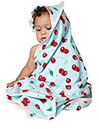 "BedHead Pajamas Cherry Hearts ""Boo Boo"" Swaddle Blanket 2052-K-7038"