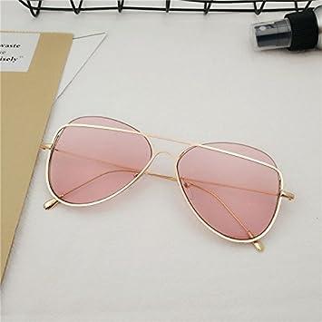 42906d8d8ce46 Sunyan Corea del Sur con el amarillo rojo red gafas Gafas de sol Gafas  transparentes de la personalidad y el espejo pionero