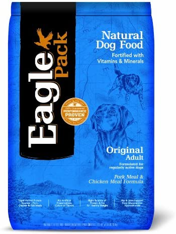 Eagle Pack Natural Dog Food Original Pork Meal Chicken Meal