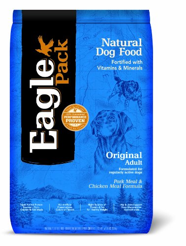 Eagle Pack Natural Pet Food, Original Adult Pork Meal and Chicken Meal Formula for Dogs, 30-Pound Bag