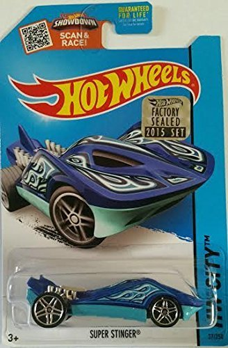 Hot Wheels HW City Super Stinger 37/250 Blue 2015