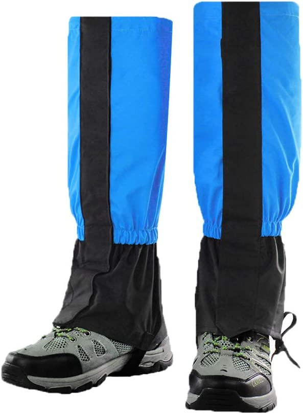 Luwint Waterproof Kids Leg Boot Gaiters Children Hiking Hunting Climbing Protective Gear for 6-12 Yrs Old Girls Boys