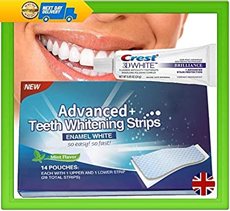 Crest 3d Brilliance Whitening Toothpaste 28 Advanced Plus Teeth