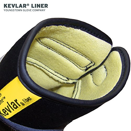 Youngstown Glove 05-3080-70-L General Utility Lined with KEVLAR Glove Large, Gray by Youngstown Glove Company (Image #3)