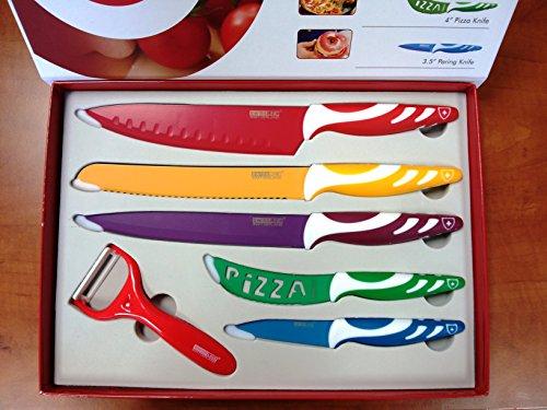 Compra Swiss Line con 5 pc juego de cuchillos de acero ...