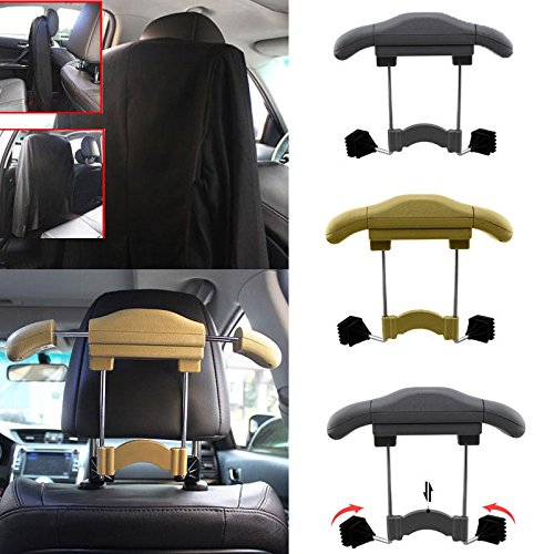 VIPASNAM-Car Headrest Seat Back Coat Holder- Hanger Organiser Clothes Shirt Coats - Cheapest Uk Sunglasses