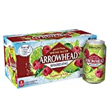 Arrowhead Sparkling Water, Raspberry Lime, 12 oz. Cans (Pack of 8)