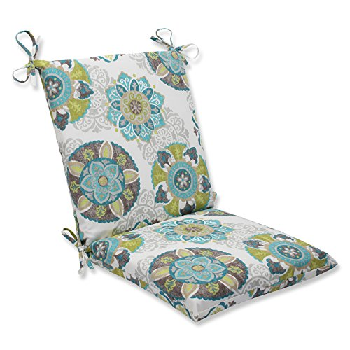 Pillow Perfect Outdoor Allodala Squared Corners Chair Cushion, Oasis