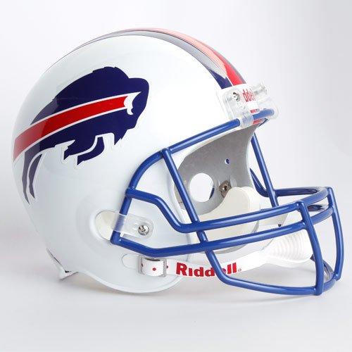 NFL Riddell Buffalo Bills White 1976-1983 Throwback Replica Full-Size Helmet