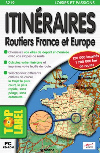 Itinéraires routiers France et Europe, CD-ROM Collectif