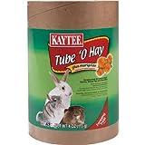 Kaytee Tube O' Hay Plus Carrot Medium 4-Inch, 2.7oz tube