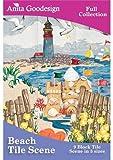 Anita Goodesign Embroidery Designs CD BEACH TILE SCENE