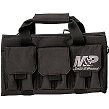 Smith & Wesson M&P by Pro Tac Single Handgun Case Padded Pistol Bag for Hunting Shooting Range Sport Storage Transport