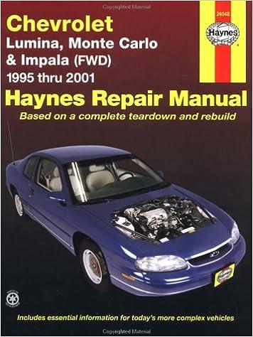 96 montecarlo service manual
