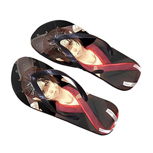 Bromeo Hoozuki no Reitetsu Anime Unisex Flip Flops Chanclas 585
