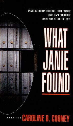book cover of What Janie Found
