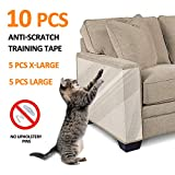 """FOCUSPET Furniture Protectors from Cats 10pcs Cat Scratch Deterrent Sheet 