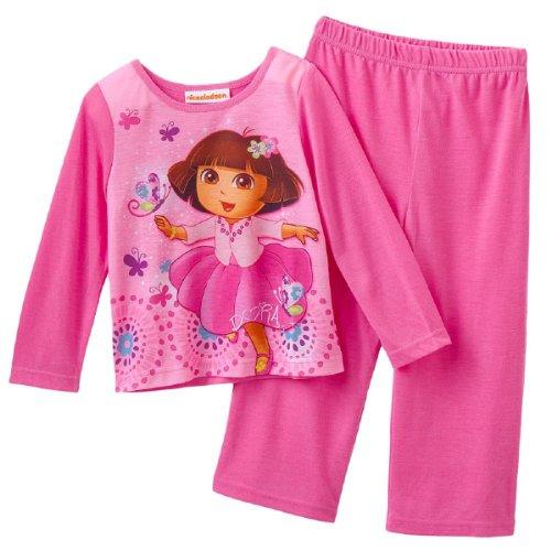Dora the Explorer Toddler Little Girls' Pajamas (3T)