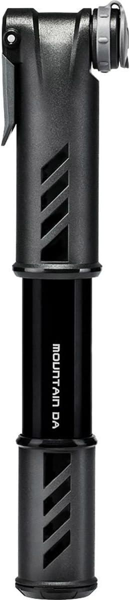 Topeak Mountain DA Mini Pump Black, with Gauge