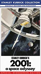 2001 - A Space Odyssey (Widescreen Edition) [VHS]