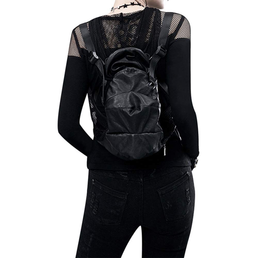 ZWNSWD Retro Multifunction Backpack Punk steam Shoulder Bags Outdoor Equipment High Capacity Mechanical Package Suitable for Men and Women
