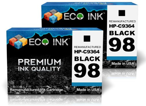 ECO INK Compatible / Remanufactured for HP 98 C9364WN (2 ...