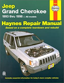haynes repair manual jeep grand cherokee 1993 2000 larry warren rh amazon com 1998 jeep cherokee sport factory service manual Jeep Cherokee XJ 2 Door