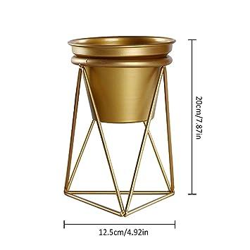 Metall Vase Im Geometrische Design Wohnung Schmucken Behalter Fur