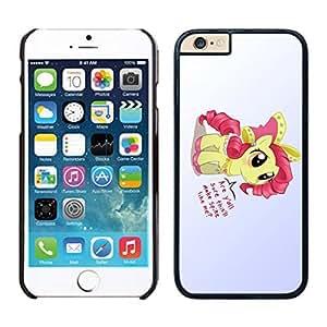 NEW DIY Unique Designed Case For iphone 6 plus my little pony iphone 6 plus 5.5 TPU inch Phone Case 131