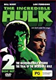 The Incredible Hulk - Double Movie [The Incredible Hulk Returns + The Trial of the Incredible Hulk] [NON-USA Format / PAL / Region 4 Import - Australia]