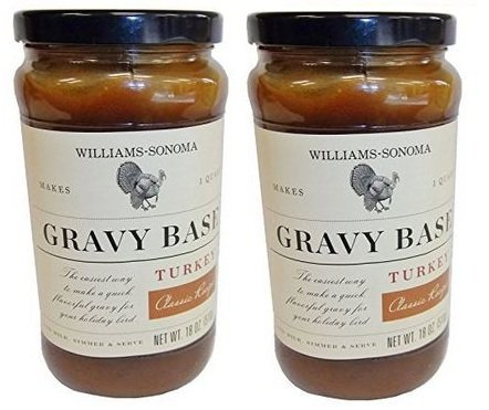 - W.S Turkey Gravy Sauce 2 jars (1LB 2 OZ) Each