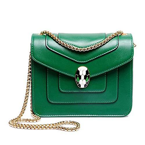 a a a Gcclcf forma di in serpente piccola Designer con catena oro Handbags Borsa tracolla catena New WnqfTqSI