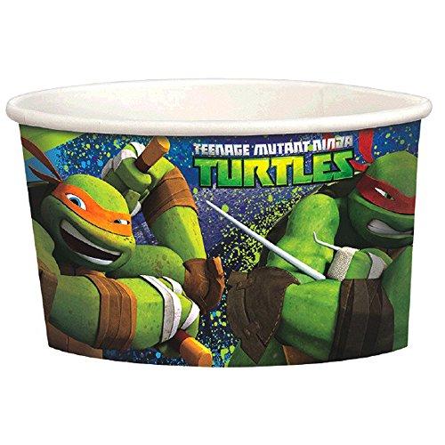 Teenage Mutant Ninja Turtles Ice Cream Cups (8ct)