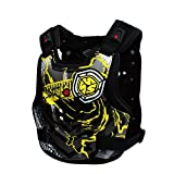 A.B Crew Motorcycle Body Armor Adult Street Bike Chest Protector Off-Road Dirt Bike Vest Protector