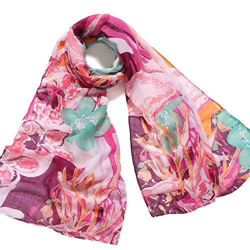 Silk Voile Floral Skirt - 4