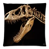 "Custom Queen Size Bed Pillowcase DIY Fashion classic POP Tarbosaurus Pillowcases Pillowslips Roomy in Size 18"" x 18"" Inch Pillow slip Bed Pillowcases Pillow cases"