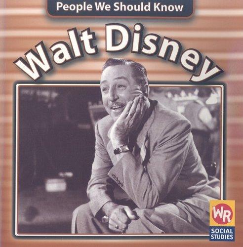 Read Online Walt Disney (People We Should Know) pdf
